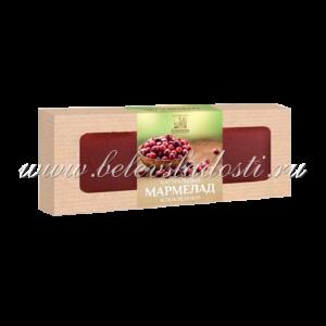 Мармелад пластовый клюквенный 320гр - Коломчаночка
