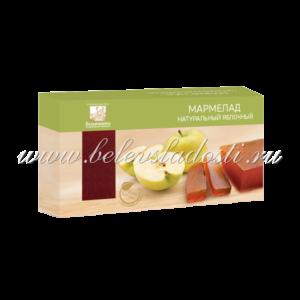 Мармелад пластовый яблочный 210гр - Коломчаночка
