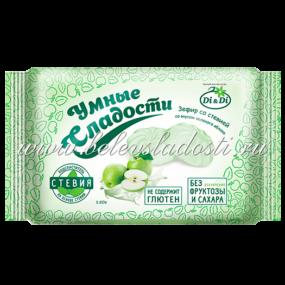 Умные сладости---Зефир со вкусом зеленого яблока 150г