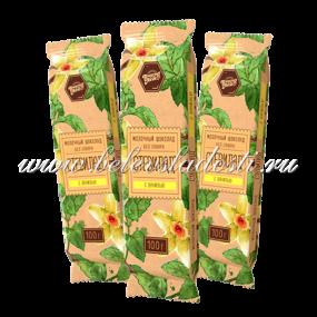 молочный шололад стевилад - ваниль